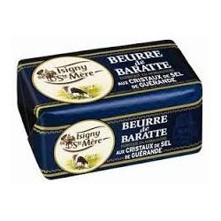 BURRO de BARATTE ISIGNY AUX CRISTAUX DE SEL 250 gr