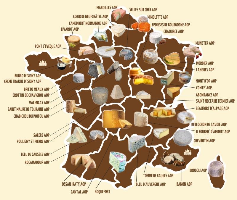 Mappa Francia La Basilica Di San Formaggio