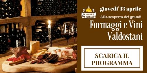 Alla scoperta dei grandi formaggi e vini valdostani