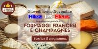 Allez les Bleus - Serata degustazione formaggi francesi