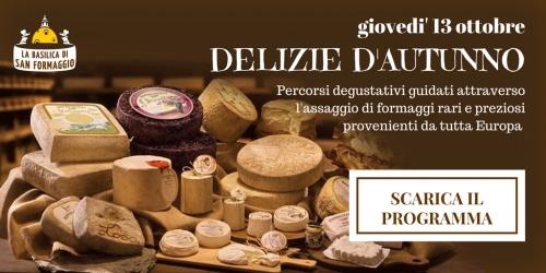 Delizie d'autunno - Serata degustazione formaggi (programma e-book)