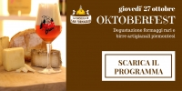 Oktoberfest - Serata degustazione formaggi (ebook programma)