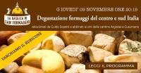 Varchiamo il Rubicone - Degustazioni di formaggi del centro e sud Italia